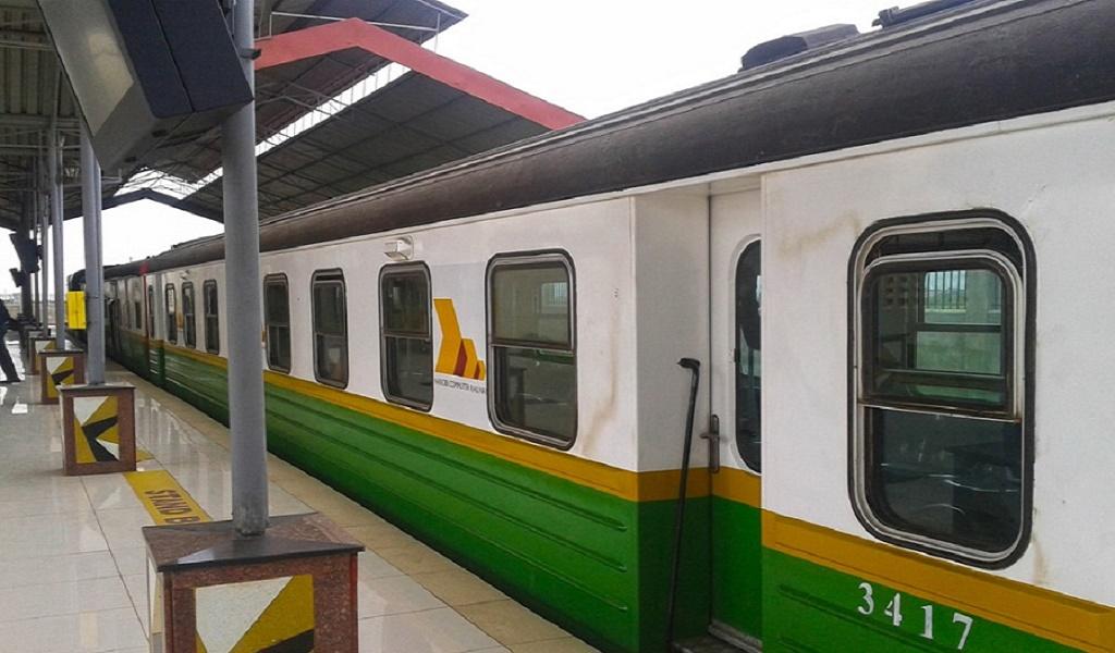 Riding the Kikuyu Buffalo Commuter Train