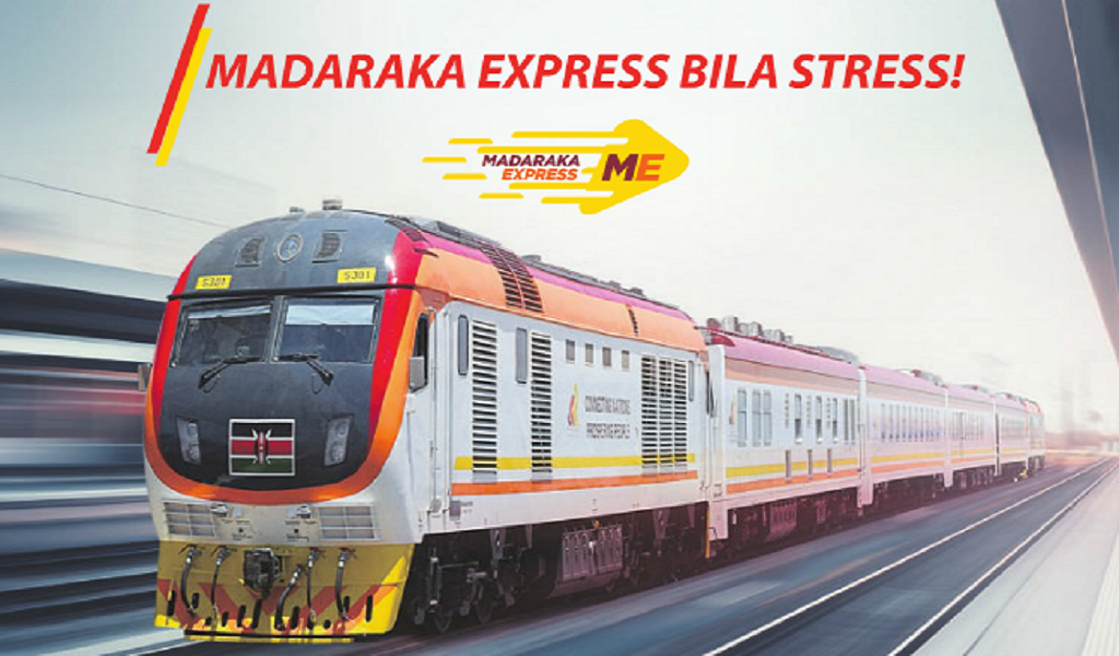 SGR Train from Nairobi to Suswa Schedule