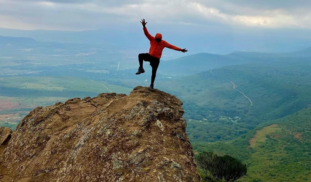 Hiking William Hiill Kenya Unlocked